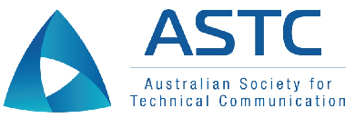 ASTC logo - a blue triangle with rounded edges. Each of the three faces folds into one another.